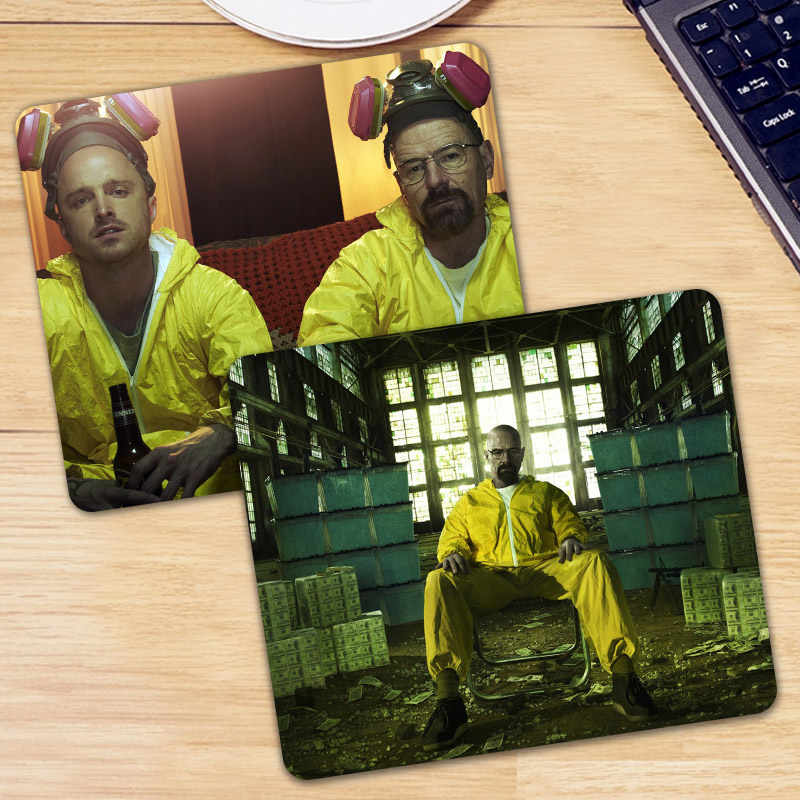 Breaking Bad Gaming Mouse Pad Gamer Keyboard Mouse Mouse Mat Gaming Meja Mousepad Cs Pergi Lol Game DotA