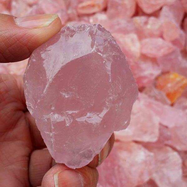 1000 gramme poudre naturelle pierre originale Grain Long 20 ~ 50) millimètre au sujet de cristal de poudre naturelle pierre originale gravier - 3