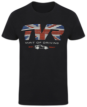 TVR Flag Spirit of Driving Mens T-Shirt Official Merchandise British Car 2019 fashion t shirt mens tee shirts NEW ARRIVAL tees