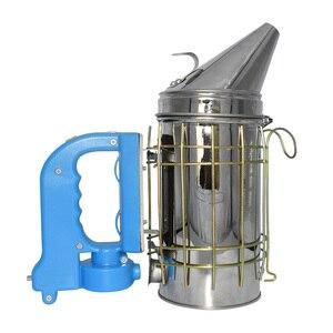 Image 2 - Kit eléctrico de transmisión de humo de abeja de acero inoxidable, gran oferta, herramienta de apicultura, ahumador de abejas