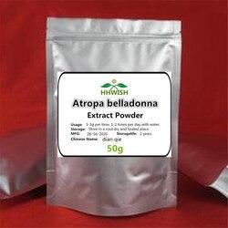 50 г-1000 г Чистый Экстракт Atropa belladonna порошок, экстракт Belladonnae, порошок скополамина, dian qie высокое качество, бесплатная доставка