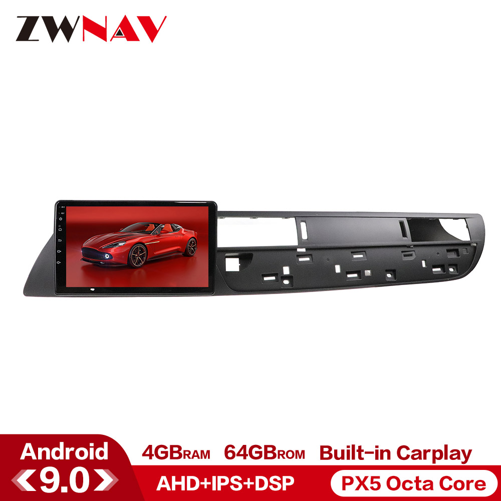 Carplay DSP 4+64 Android 9.0 Car Multimedia Player For Citroen C5 201 2011 2012 GPS Glonass Navi Radio Stereo Head Unit Free Map
