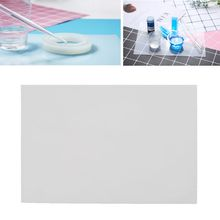 1 Pc Silicone Clear Mat Resin Pad Craft Tool High Temperature Resistance Sticky Plate DIY Making Tool