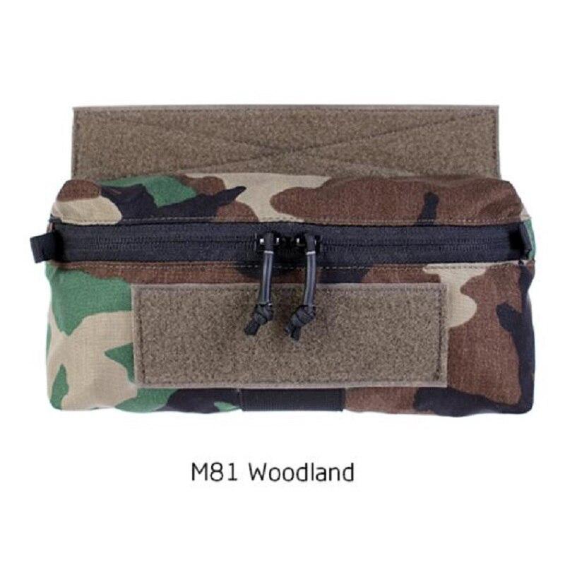Уличная тактическая нагрудная Подвеска для жилета MK3 JPC AVS, нагрудная подвесная мини-сумка для живота