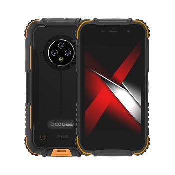 Перейти на Алиэкспресс и купить Qriginal doogee S35 PRO 5,0 дюйммобильный телефон 4 аппарат не привязан к оператору сотовой связи IP68 Водонепроницаемый Смартфон Android 10 мобильный телефон, 4 Г...