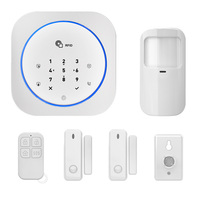Wireless Touch GSM Home Security Alarm System With APP RFID SMS Auto Dial Motion Detector Burglar Intruder Alarm Panel