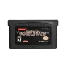 Nintendo GBA Video oyunu kartuşu konsolu kart Castlevania çift paketi İngilizce dil abd versiyonu