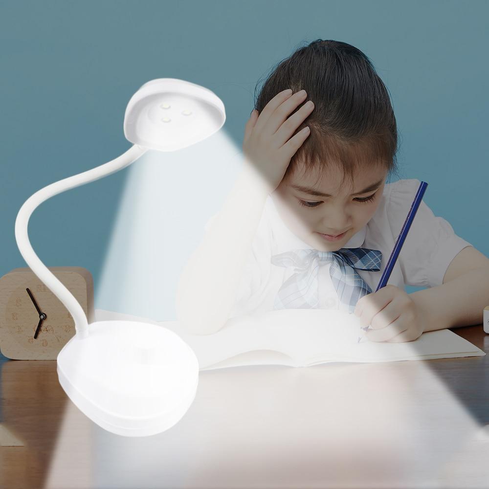 >Flexible <font><b>Desk</b></font> Lamp LED Rechargeable LED Stand USB Table Lamp flexo escritorio led Touch <font><b>Switch</b></font> Lamp Student Reading Table Lamp