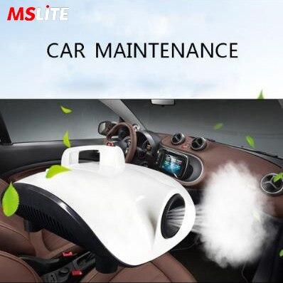 900w Air Car Atomizing Disinfection Spray Machine Air Condition Fog Smoke Machine For Car Interior Sterilize Use Against  Virus