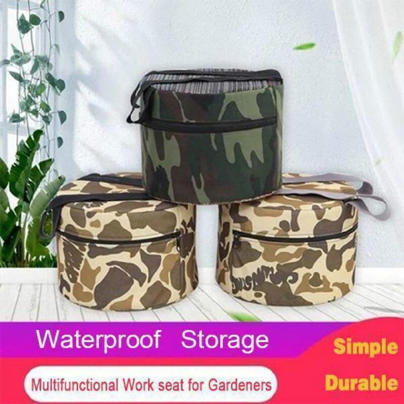 Ultra-leve wearable jardinagem banco de ajuda sem encosto não deslizamento portátil ao ar livre cadeira de fezes de acampamento conveniente pesca cha