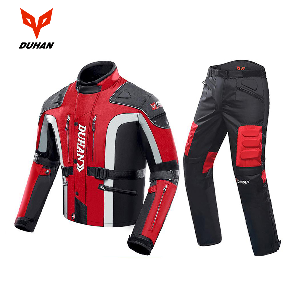 DUHAN Motorcycle Jacket Moto Motocross Pants Enduro Riding Trousers Motocross Off-Road Racing Sports Knee Protective Trousers