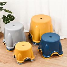 PP Non-Skid Stool Home Nordic Style Simple Foot Stool Seat For Baby Kids