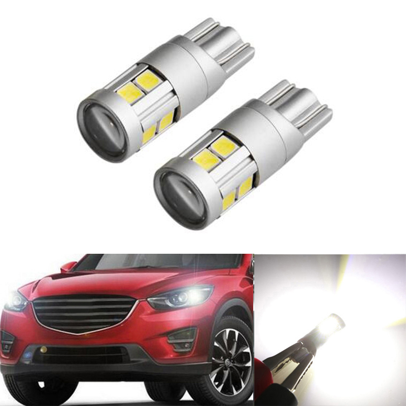 2x Canbus T10 W5W 168 194 <font><b>LED</b></font> Wedge Light No Error For <font><b>Mazda</b></font> 323 626 cx-5 3 6 8 Atenza <font><b>cx7</b></font> cx-7 mx5 cx3 rx8 cx5 image