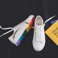 New Women Sneakers Flats Fashion Casual Canvas Shoes Woman Mixed Colors Breathable Lace-Up Low-cut Zapatillas Mujer Ladies Shoes new 2016 fashion women trainers breathable sport woman shoes casual outdoor walking flats zapatillas mujer 2 colors 35 40