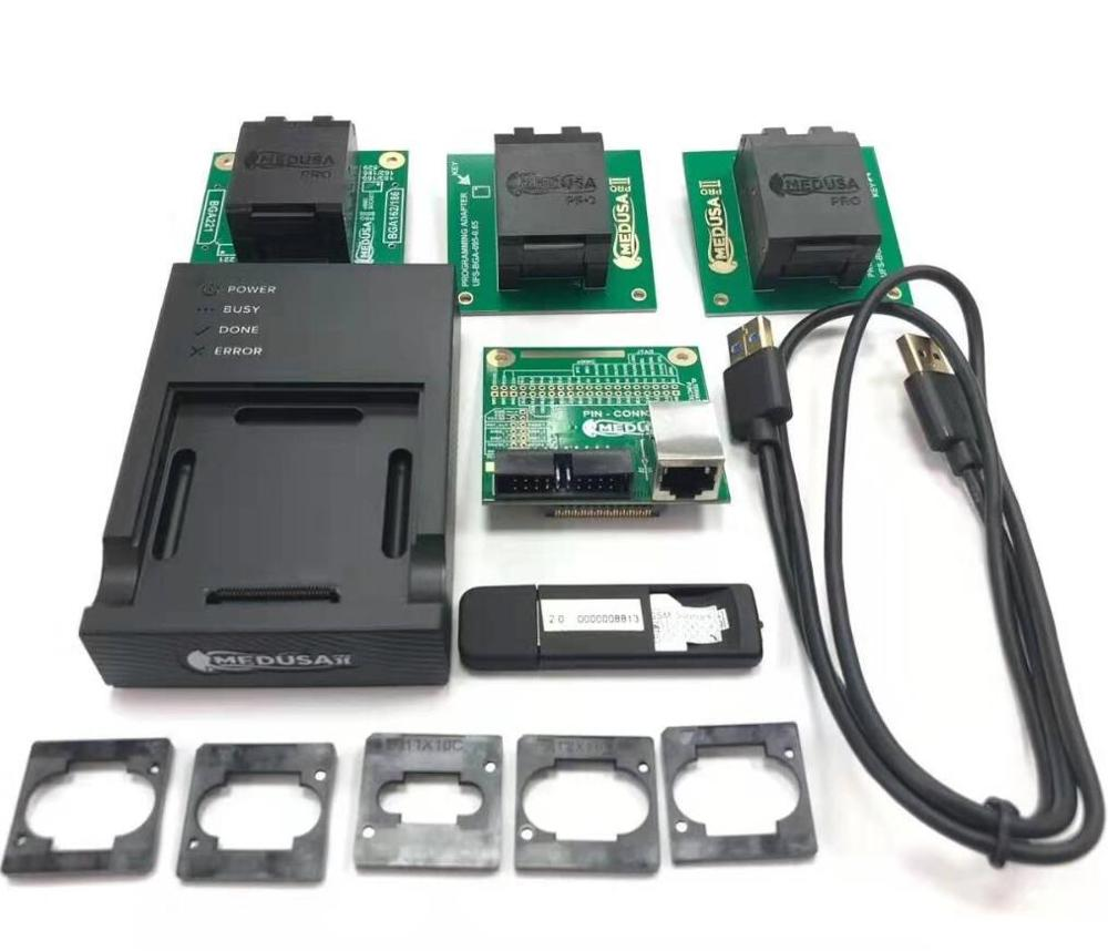 Medusa Box Medusa Pro II Box Full Set ( UFS95/UFS153/eMMC 4 In 1 Socket Adapter)