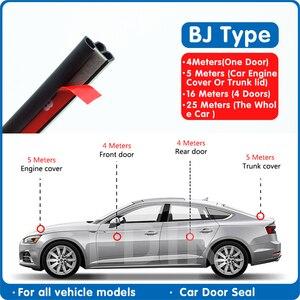 Car Door seal strip soundproof