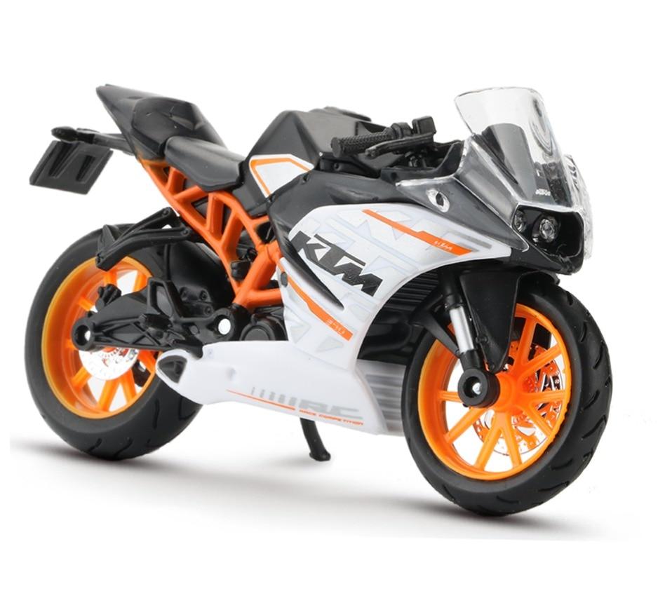 Toy KTM RC 390 Motorbike 11x3x6 cm 42