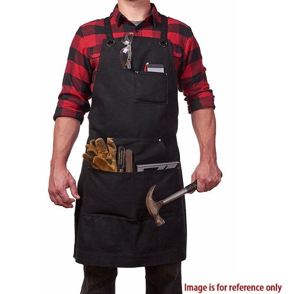 Рабочий Фартук холщовый мягкий держатель для работы Садоводство по дереву плотник прочный практичный Регулируемый барбекю поперечный