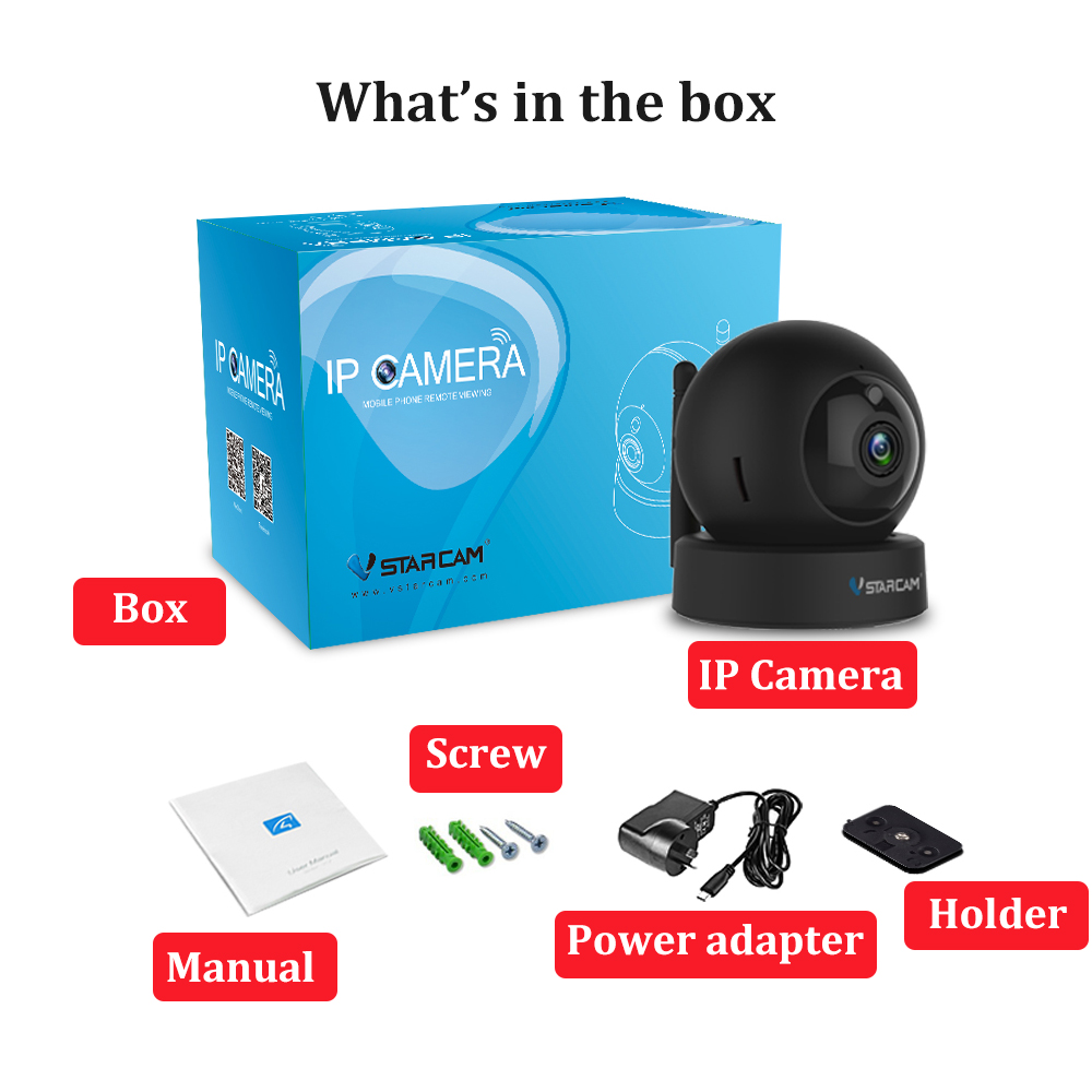 H3239b0e36aee44e18114508f3278b7243 Vstarcam 1080P 2MP Dome Mini IP Camera G43S Wireless Wifi Security Camera PTZ Cam IR Night Home Surveillance Camera Baby Monitor