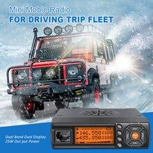 Zastone z218 VHF UHF راديو صغير 25 واط لاسلكي تخاطب سيارة اتجاهين راديو comunicador HF جهاز الإرسال والاستقبال