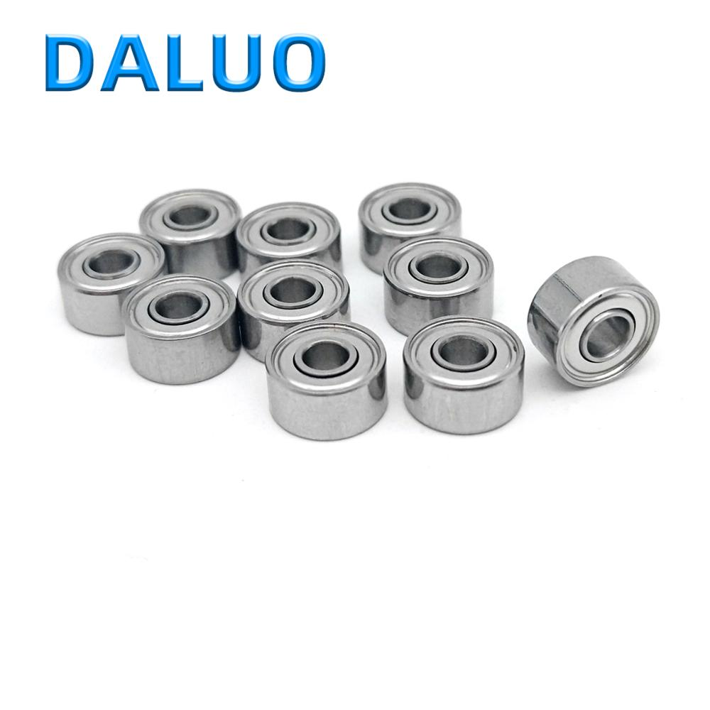 10PCS 693ZZ P5 3X8X4 DALUO Bearing 693-2Z 639/2-2Z 693 693Z ABEC-5 Single Row Deep Groove Ball Bearing Sealed Bearing Metric