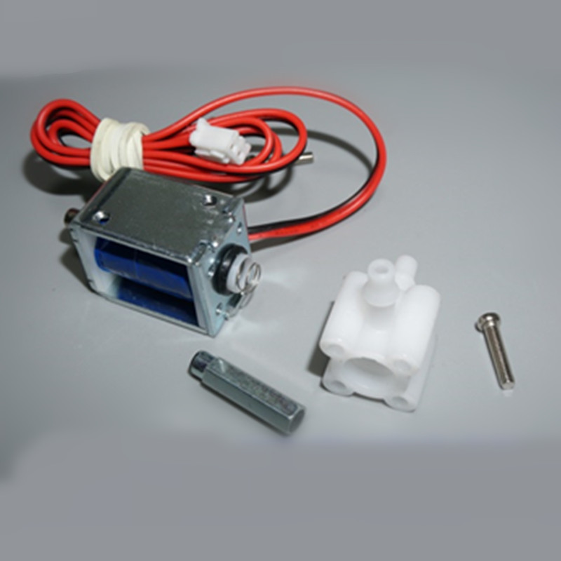 DC 5V 6V Electric Mini Micro Solenoid Valve Air Gas Release Exhaust Discouraged 2 Position 3 Way For Gas Air Pump