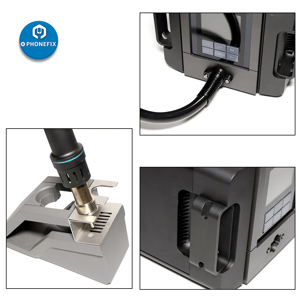 home improvement : free shipping  5MM round welding nozzle with 40MM and 20MM flat welding tips for hot air welder plastic welding gun high quality