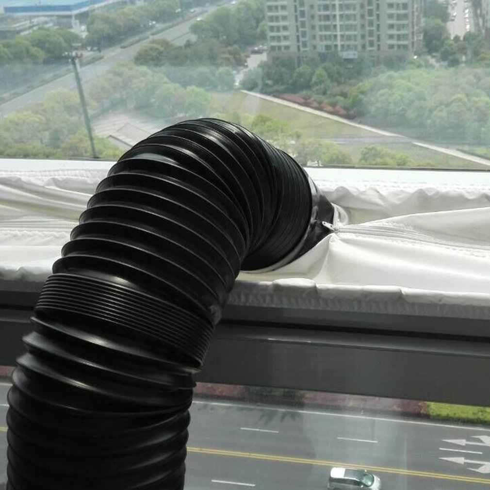 Uszczelka okienna 4m uszczelka okienna z tkaniny do przenośnych klimatyzatorów klimatyzatory wodoodporne miękkie domowe elastyczne