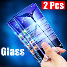 Protective Glass for Mi Pocophone F1 Tempered Glass for Mi Note 3 CC9 CC9e 9H HD Screen Protector for Xiaomi Mi A3 A2 Lite A1(China)