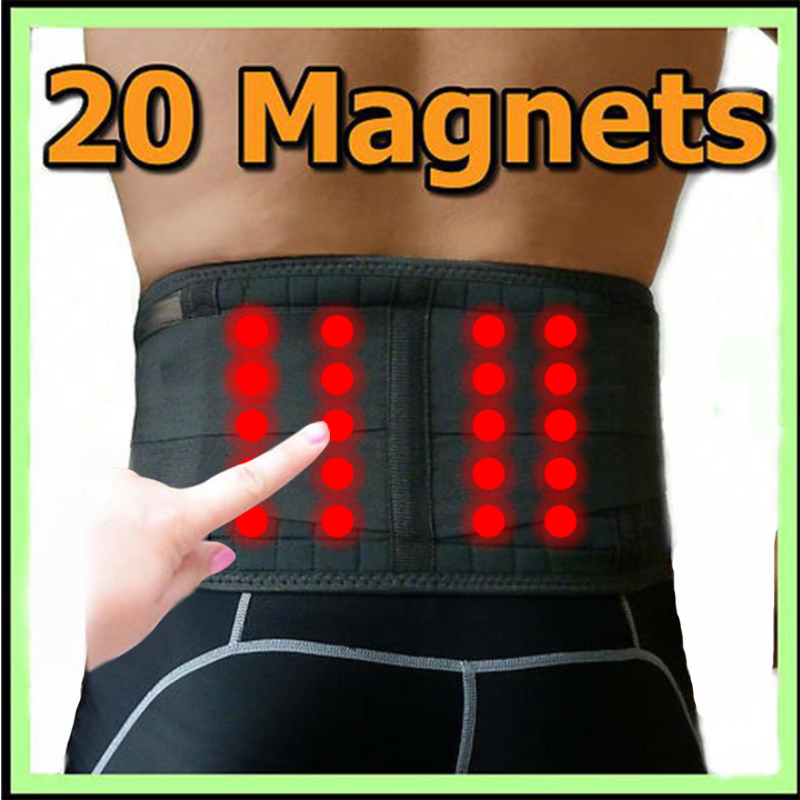Unisex 20 Magnets Orthopedic Medical Band Magnetic Therapy Boon Care Tool Massager Back Posture Corrector Therapy Kyphosis Y020