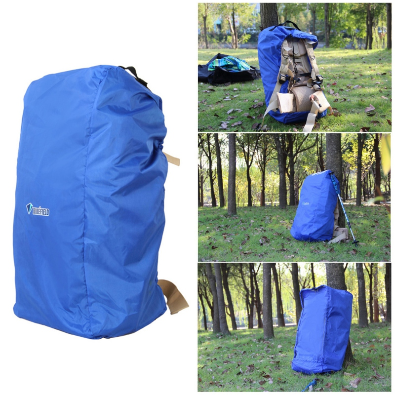 Full Protector Adjustable Backpack Cover Large Capacity Waterproof Rain Cover Plane Dust Cover Outdoor Bag For Hiking Camping