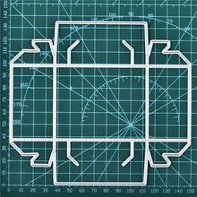 DiyArts металлические режущие штампы DIY рождественские конфеты шаблоны для коробок Скрапбукинг Тиснение Бумага Крафтовая окраска креативный Конверт