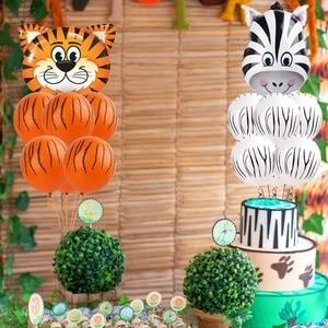 Image 5 - FENGRISE cartel de Aniaml para decoración de jungla, fiesta de cumpleaños, jungla, Fiesta Temática, fiesta de Safari, Baby Shower