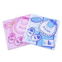 33*33cm 20 sztuk/partia BABY SHOWER papieru Nakpin kolor drukowane serwetki BABY SHOWER chłopców i dziewcząt Party Birthday Party dekoracje