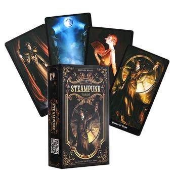 The steampunk Τράπουλα Κάρτες Ταρώ της barbara moore Χαρτομαντεία Προβλέψεις Επιτραπέζια Παιχνίδια Ενηλίκων Αγγλική Έκδοση