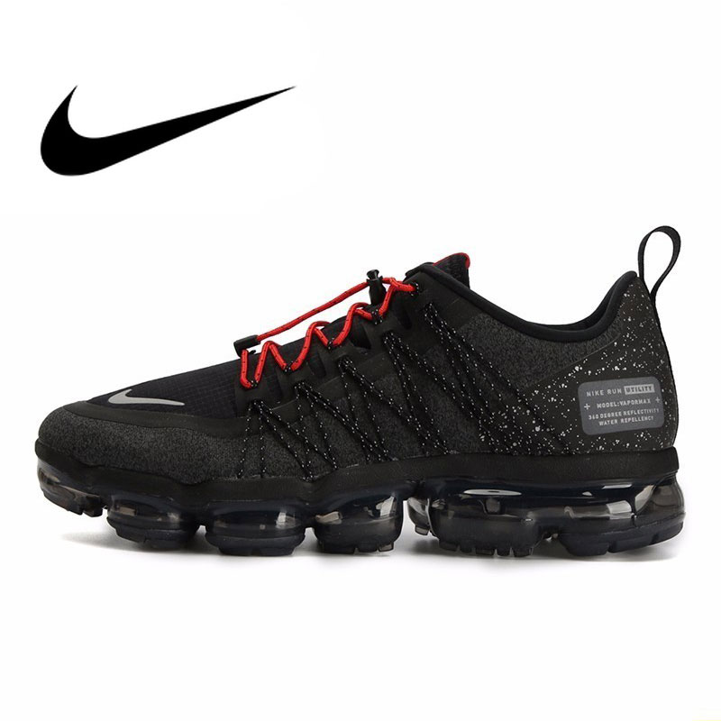 Nike Vapormax Men Running Shoes Sneakers Full Palm Air Cushion Comfortable Ventilation Bradyseism Outdoor Sneakers AQ8810-001