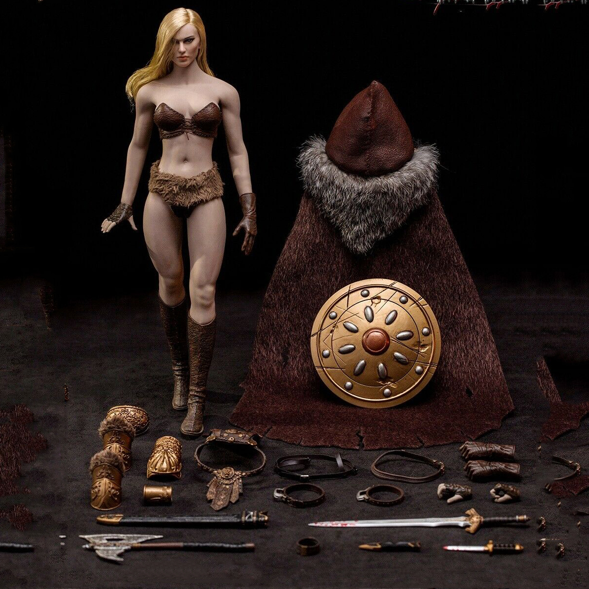 TBLeague Figures Arhian City of Horrors Female Gloved Hands 1//6 Scale