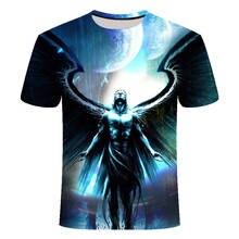 men clothes 2019 Anime T-shirt Gothic T-shirt one piece T-shirt Men's Shirt Summer Short-sleeved Naruto Shirt Harajuku T-shirt цена