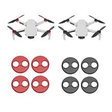 4 pçs capa do motor para dji mavic mini drone protetor tampa de liga de alumínio do motor à prova de poeira scratchproof capa de proteção accessorie