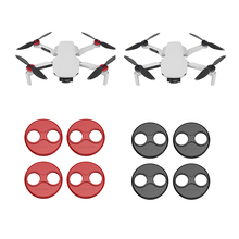 4PCS Motor Cover for DJI Mavic Mini Drone Protector Cap Aluminum Alloy Motor Dust proof Scratchproof Protection Cover Accessorie