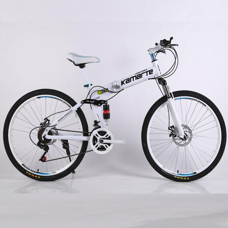 21 скоростной горный велосипед дешевый взрослый спицевое колесо горный велосипед складной горный велосипед 24/26 дюймов велосипед