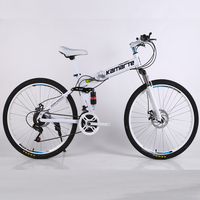 21 velocidade bicicleta de montanha barato adulto falou roda mountain bike dobrável mountain bike 24/26 polegada|Bicicleta| |  -
