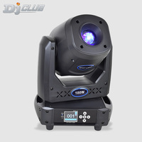 Professional Stage Lighting Led Moving Head 100W Prism Lyre 2 Gobos Plates Strobe Effect For Party Nightclub Dj Show Equipment