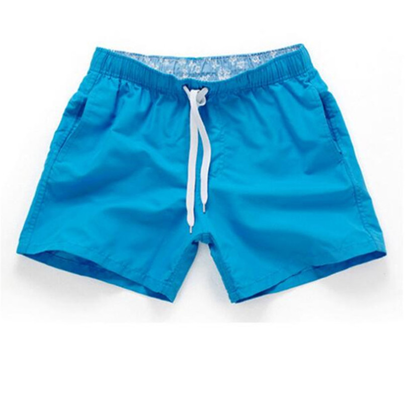 Summer Board   shorts   men casual solid Mid Beach   shorts   fashion printed Waist   shorts   man Straight Drawstring   shorts   S-3XL Hot sale