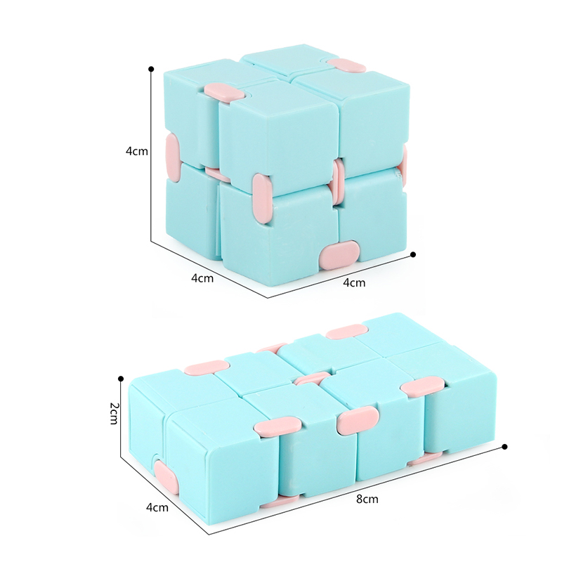 2021 Antistress Infinite Cube Infinity Cube Cube Office Flip Cubic Puzzle Stress Reliever Autism Toys Relax Toy For Adults Gift img4
