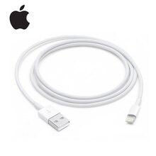 Original Apple Lightning to USB Cable 1m Apple Lightning Cable USB Charging Cable for iPhone iphone 6/6s/xr/7/8/ipad Data Cable кабель a data lightning usb для iphone ipad ipod 1м золотистый amfial 100cmk cgd