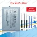 Высокое качество Новые оригинальные MX 4 Батарея для Meizu MX4 Батарея 3100 мА/ч, BT40 BT 40 BT-40 Мобильный телефон батареи + отслеживания + Инструменты