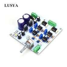 Плата предварительного усилителя Lusya Reference MBL6010D, NE5534 * 6 Op Diy комплекты/готовая продукция AC 15V T1042