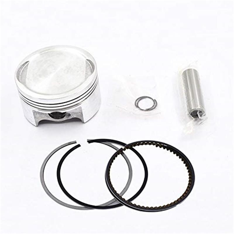 Motorcycle Engine Spare Parts 57.3mm Piston 14mm Pin Ring 0.8*0.8*1.5mm Set Kit For Honda <font><b>CBF150</b></font> CBF 150 150cc image