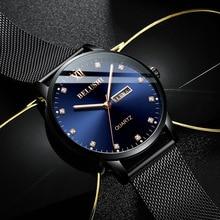 Men's Watch 2020 New Brand Men's Watch Diamond Surface Quartz Watch Luminous Waterproof Fashion Brand Watch Men Dropshipping brand new diy watch head page 4